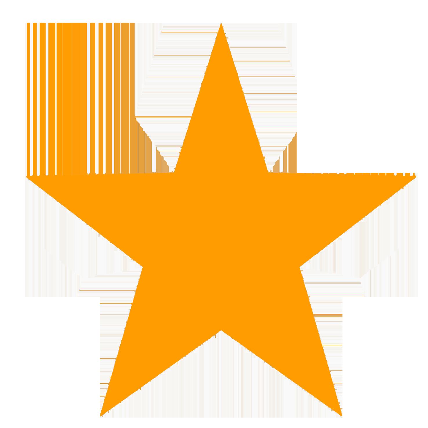 orange-star-clipart
