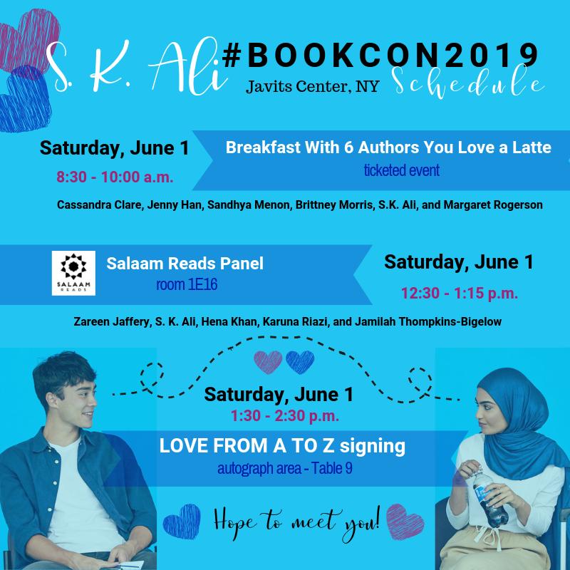 S. K. Ali #BOOKCON2019-1