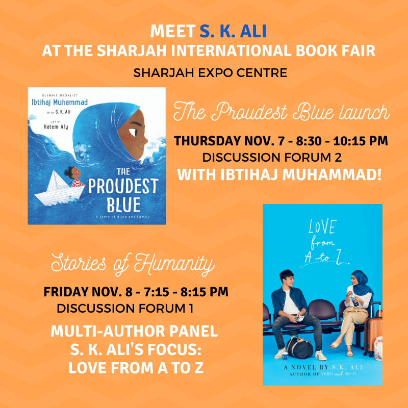 See S. K. Ali at the Sharjah International Book Fair